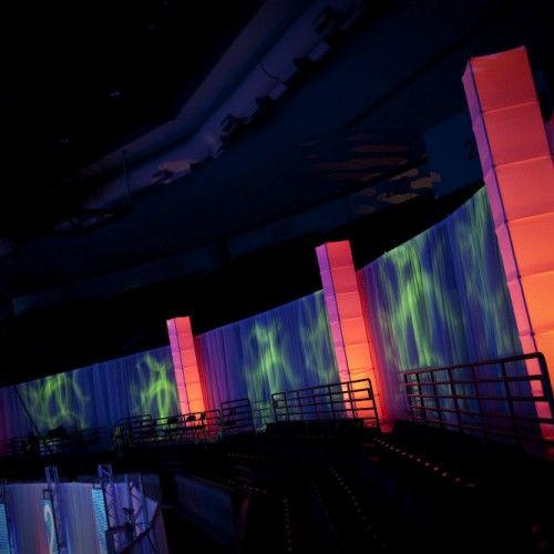 Technical conference event lighting