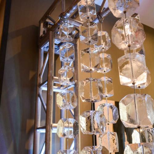 Glass lighting for Minnesota N'ICE