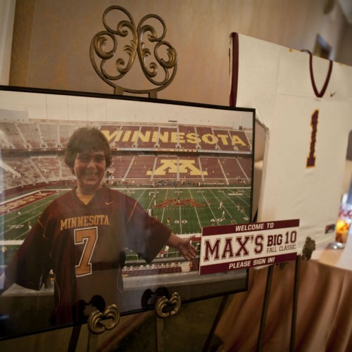 Gopher themed Bar Mitzvah - photos