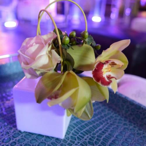 Jazz club floral decor