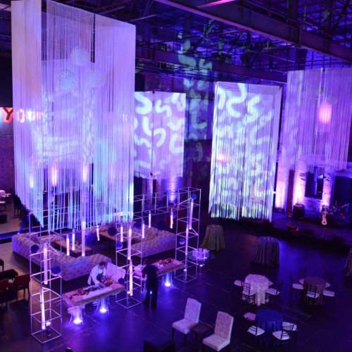 Jazz club lighting decor