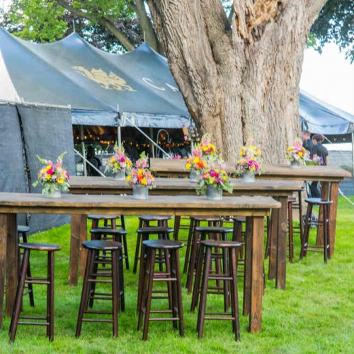 Cambria bar tables by tree web