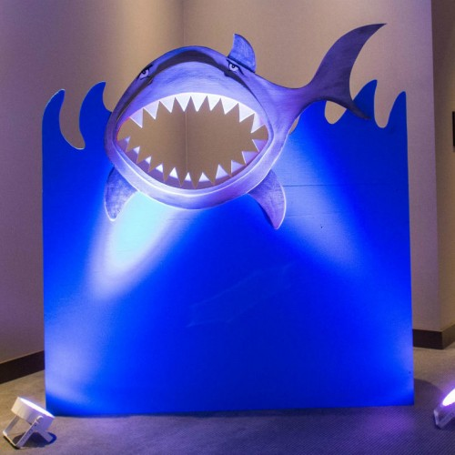 RGA Margaritaville shark photo op