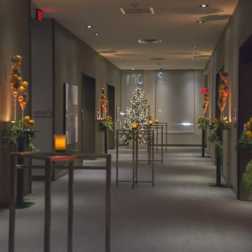 Carlson Holiday 2015 Hallway Entrance