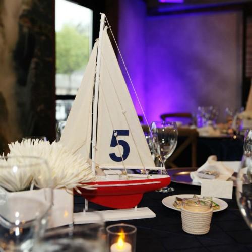 Allen Wedding sailboat