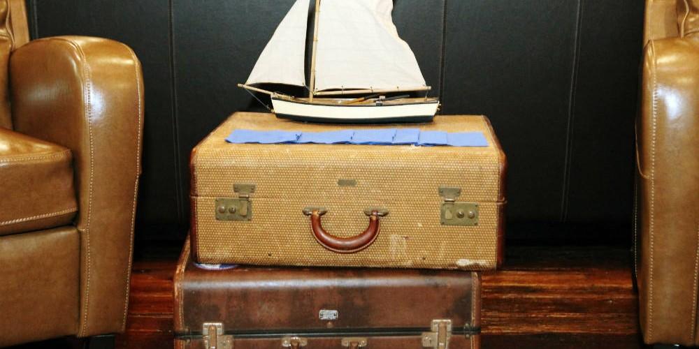 Allen Wedding suitcases