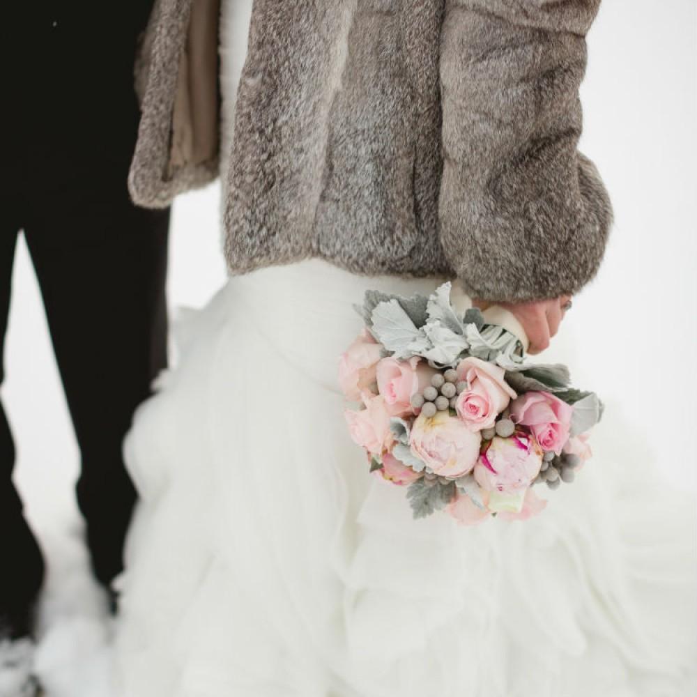 Herreid three-fourths close Wedding