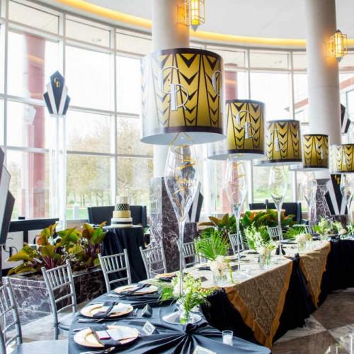 Casey Gatsby Wedding head table