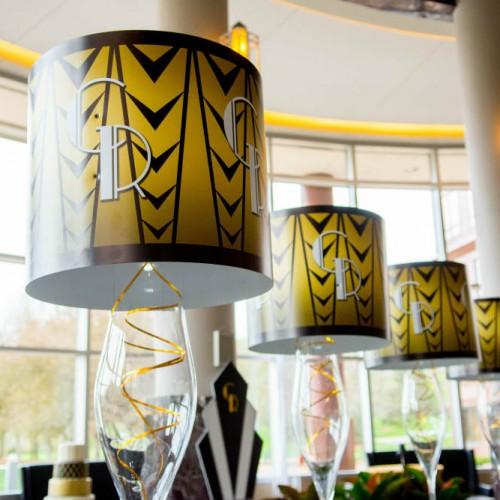 Casey Gatsby Wedding lampshades