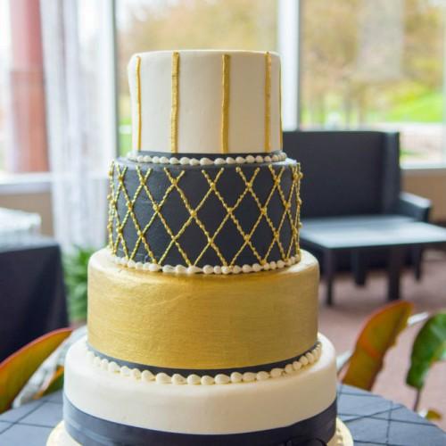 Casey Gatsby wedding cake