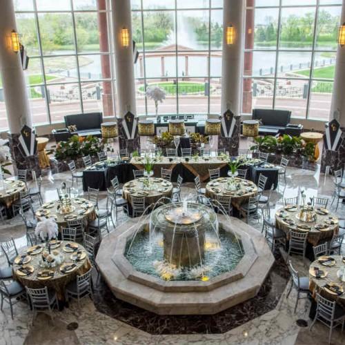 Casey Gatsby wedding room