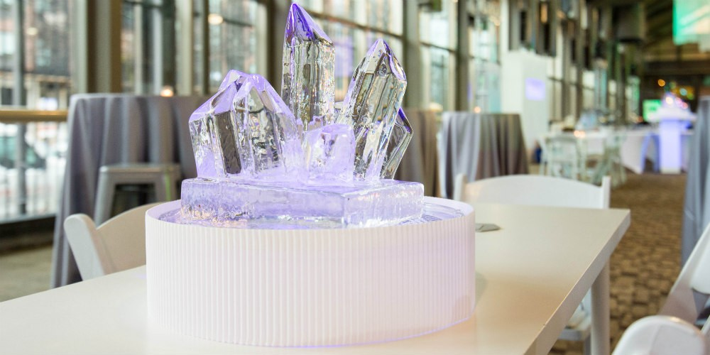 SPS Depot ice centerpiece project image