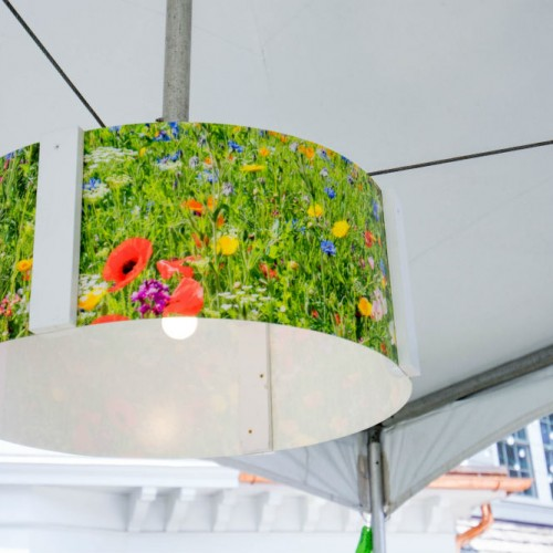 UHG floral lamp