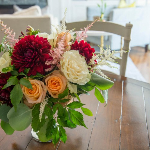 UHG floral on table