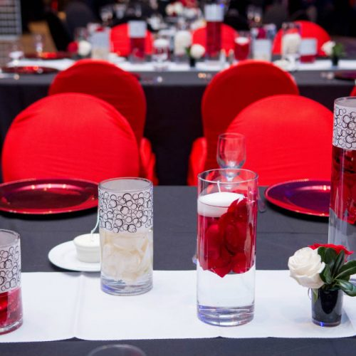 fed chal 2016 long table centerpiece