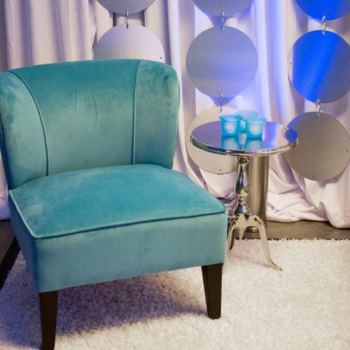 live nation blue chair