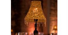 Cabaret Lamps Gold 230 x 120