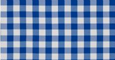 Check Blue 230 x 120