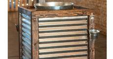 Corrugated Beverage Station