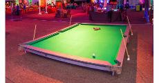 giant pool table 230-x-120