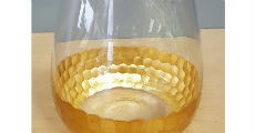 Glass Gold 230 x 120
