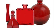 Glass Red 230 x 120