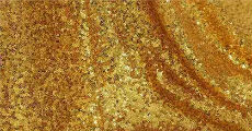 gold sequin 230-x-120