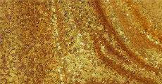 gold sequin 230-x-120