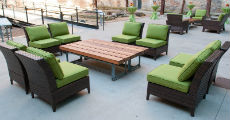 Rattan Sofa Chairs 230 x 120