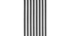 Black White Stripe 230 x 120