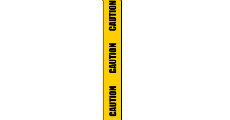 Caution Tape 230 x 120