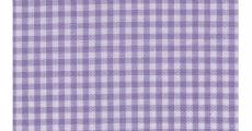 Gingham Lavender 230 x 120