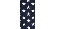 Navy With White Stars 230 x 120