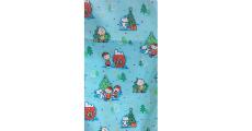 Peanuts Gang Blue 230 x 120