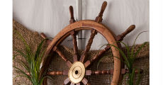 Ships Wheel 230 x 120
