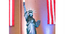 Statue Of Liberty 230 x 120