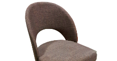 Brown Fabric Chair 230 x 120