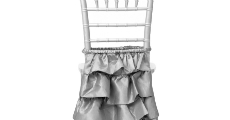 Layered Skirting Chairback Cover 230 x 120
