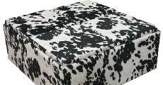 Ottoman Cow Print 230 x 120