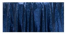 Sequin Navy Blue 230 x 120