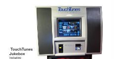 Touch Tunes Jukebox 230 x 120