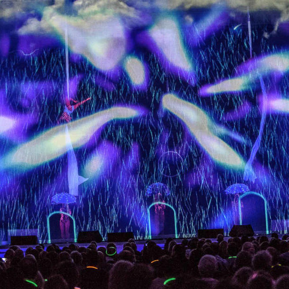 Essentia Glow Blue Stage