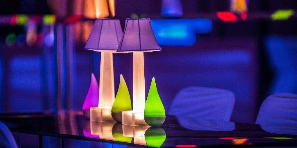 Essentia Glow Table Lamps