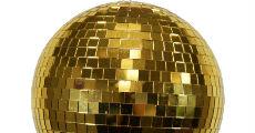 GoldMirrorBall 230 x 120