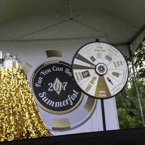 Upsher Casino Wheel Stage