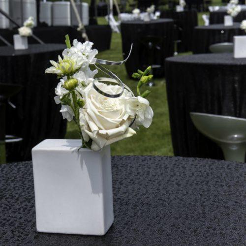 Upsher Casino White Square floral