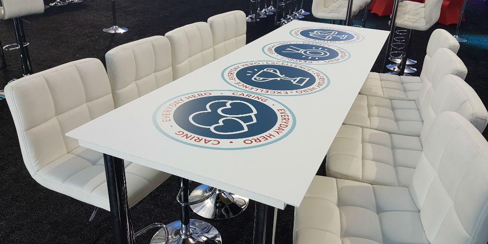 Allianz Soar 2017 White Table 1000 x 500