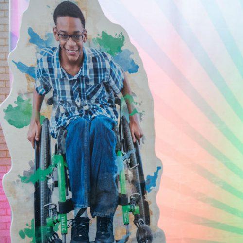 Gillette wheelchair graphic 1000