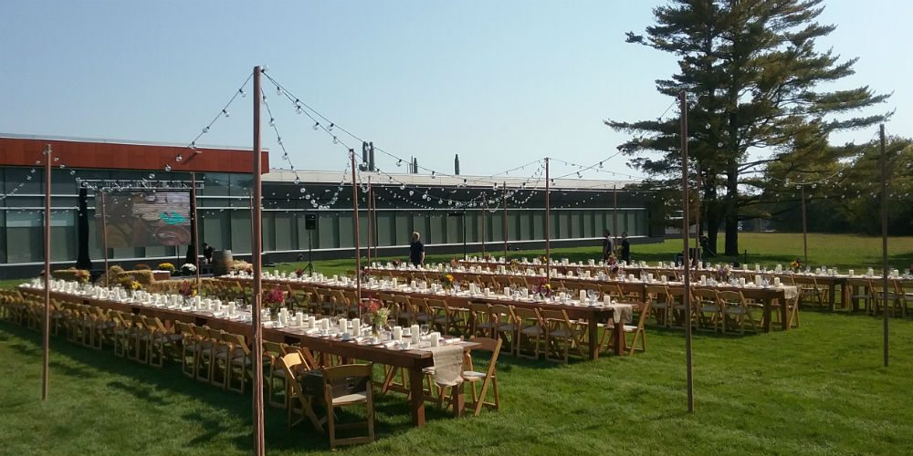 Hormel Tables on lawn project image