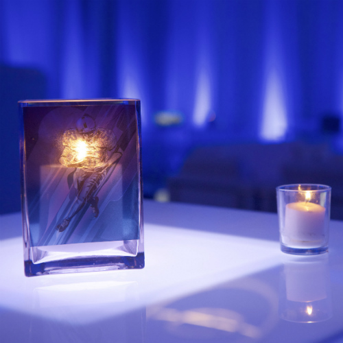 Events Forum Pepsi Ice Football Candle 500 x 500